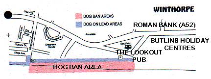 Restricted areas for dogs in Winthorpe